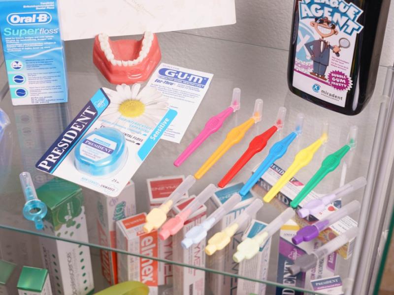 Prodej dentálních pomůcek